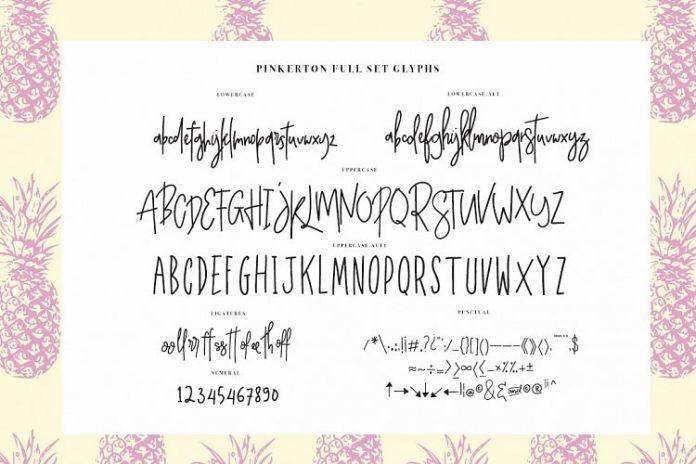 Pinkerton Script + Extra