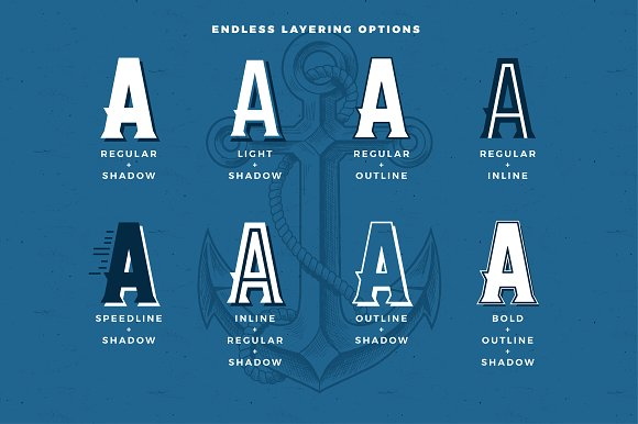 AE Armada Display Typeface