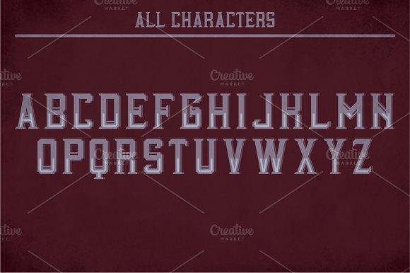 Carlisle Label Typeface