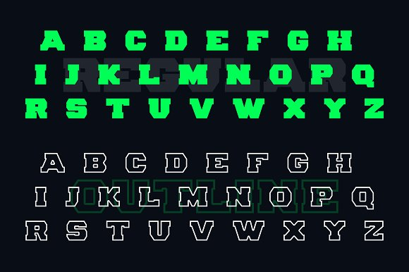 Clout Display Font
