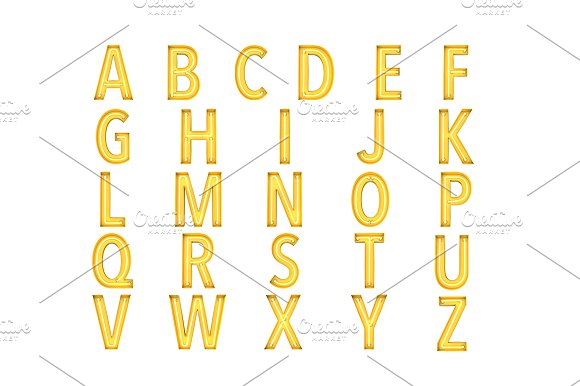 Neon - OTF colour font