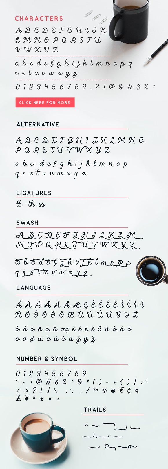 Vanilatte Font Duo