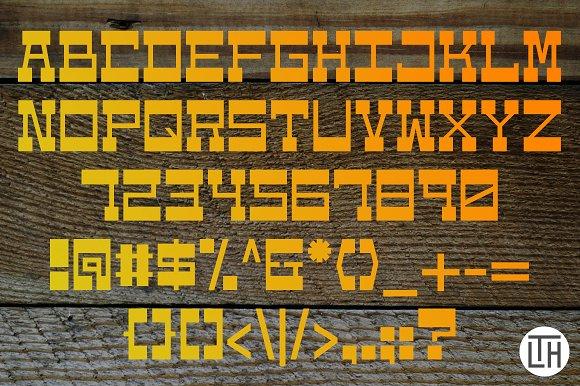Westbot Typeface