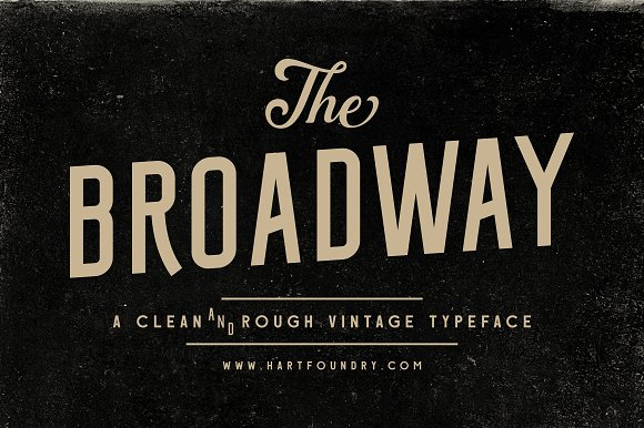 Broadway | Font Pack