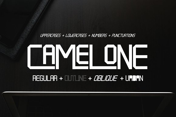 Camelone Typeface
