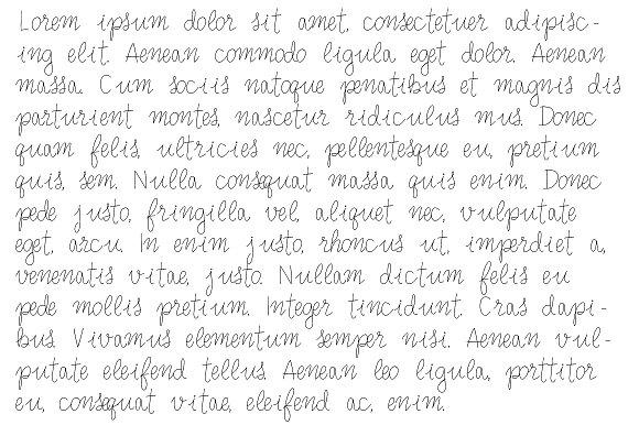 Mono Virgin Script
