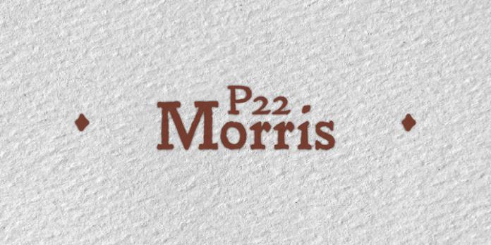 P22, Morris, Font Family,