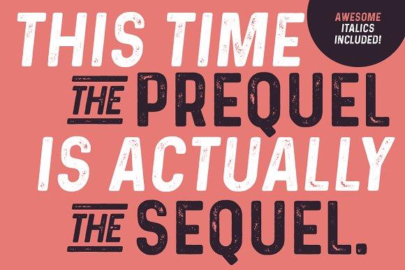 Prequel - The vintage Sequel