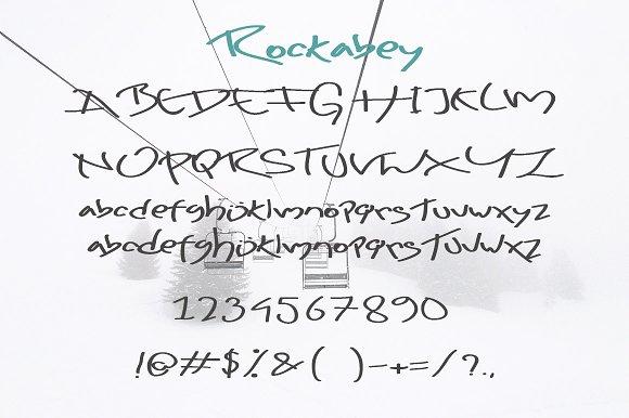 Rockabey Display Font