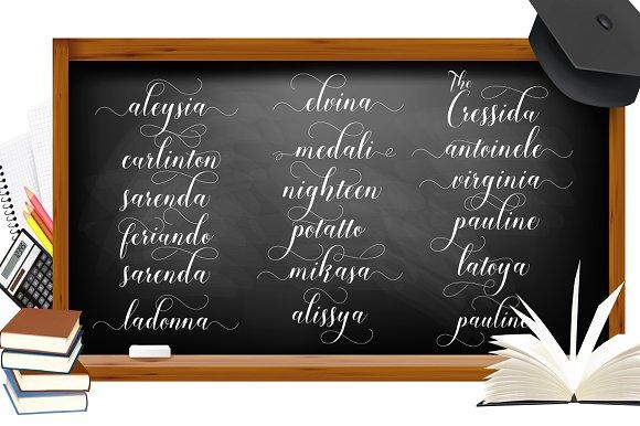 pauline script Font