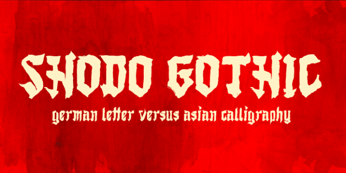 Shodo Gothic Font