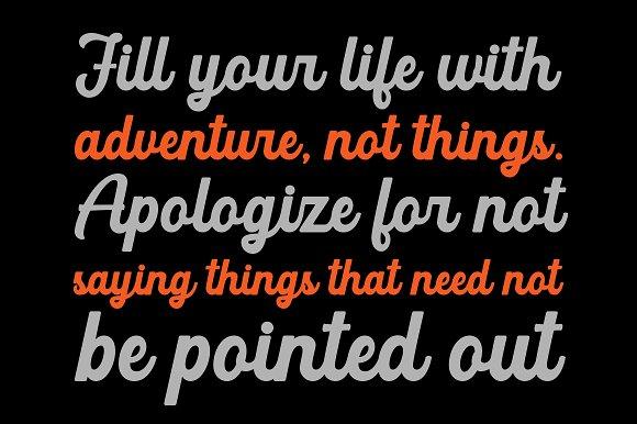 Adventure Script Font