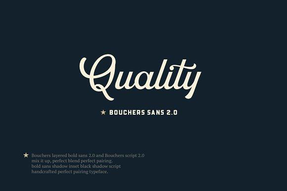 Bouchers Layered Duo
