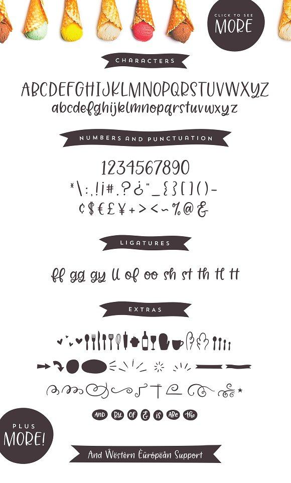 Jelligun | Hand-lettered Font