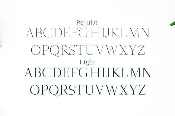 Jesusa Serif Typeface