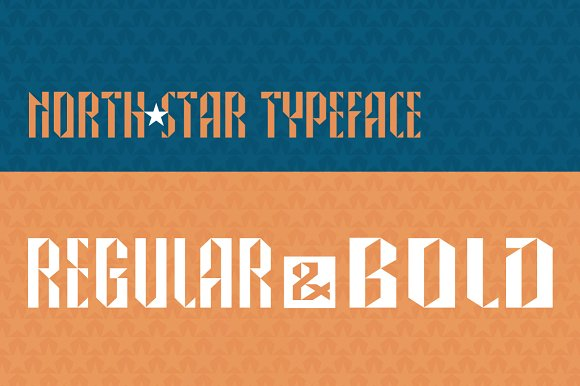 North Star sans serif typeface