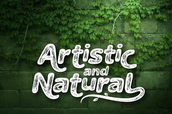 The Naturel Font