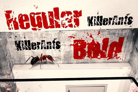 KillerAnts Display Font