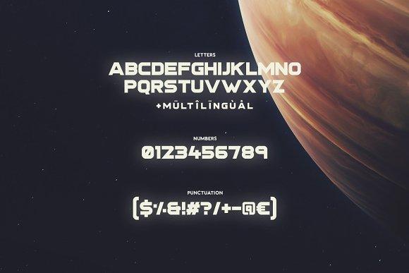 Stargaze Typeface