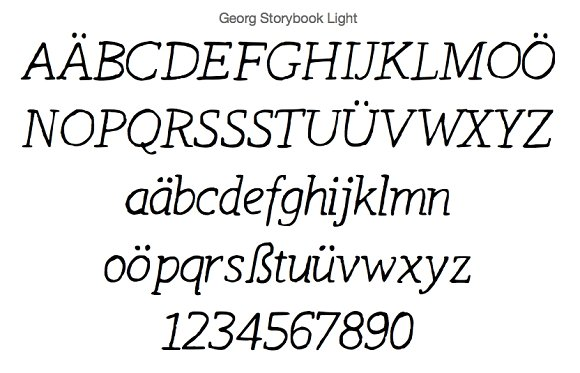 11+ FONTS for Comics & Storyboards