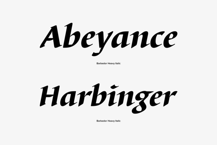 Barbedor Font Family