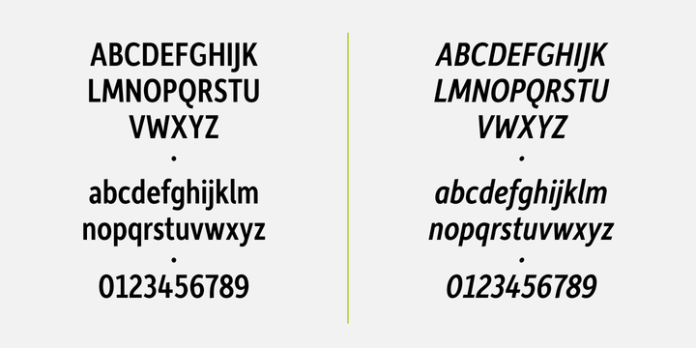 Depot New Condensed Font Family