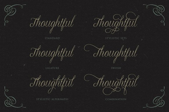 Graceful Font