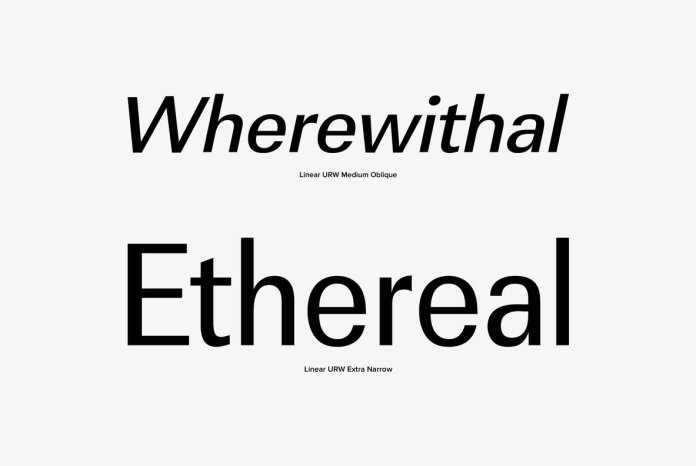 URW Linear Font Family
