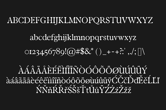 Zack Serif Typeface