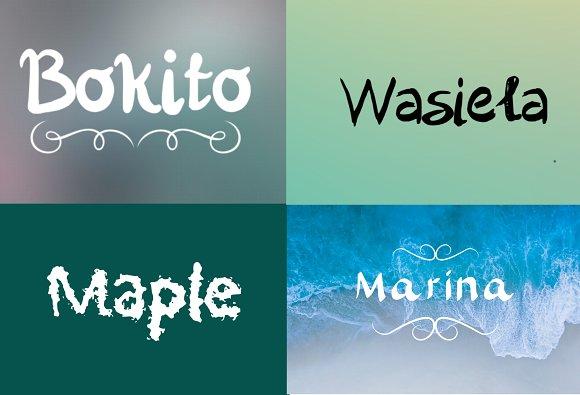 15 Handwritten Fonts Bundle SALE