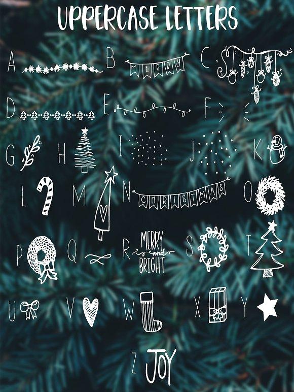 Christmas Symbols Font