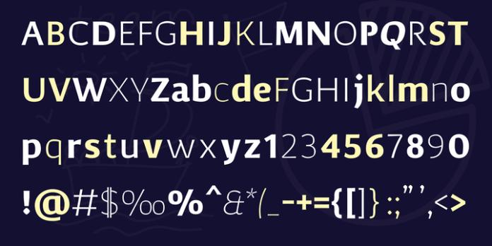Corpo Sans Font Family