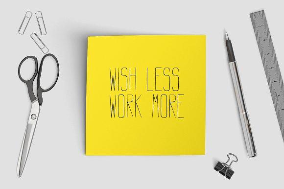 LENGTHY | All Caps Brush Font