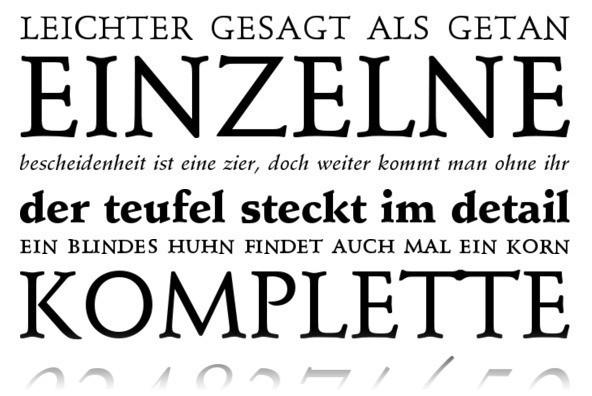Schneidler Font Family