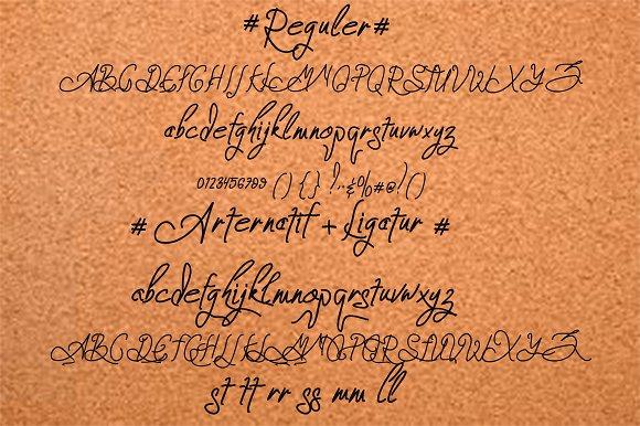 Zeinstore Font