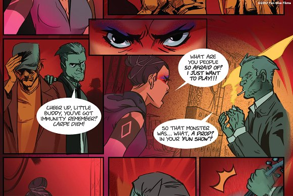 """She Said"" Comic Dialogue Font Set"