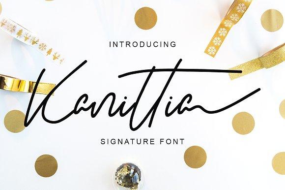 51 Handwritten Fonts Collection