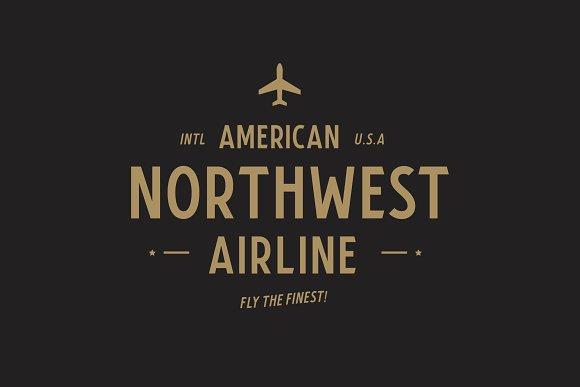Airfare Font