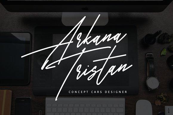 Graphicriver - Harris Signature Typeface