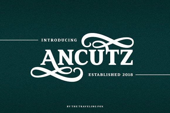 Ancutz - Elegant Serif