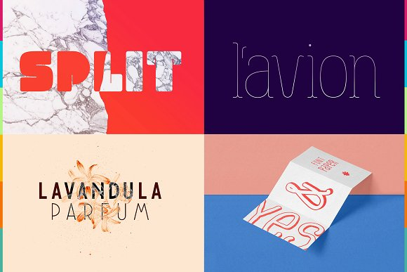 Font Bundle Collection vol.1