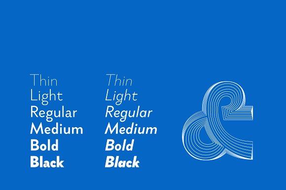 Brightwell Sans Serif Font