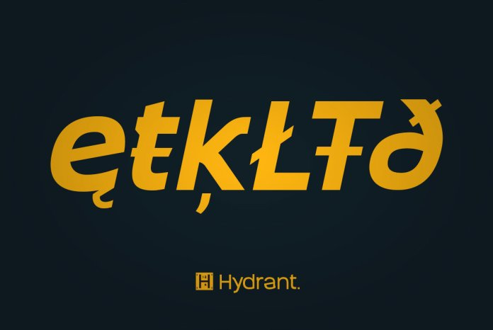 Hydrant Font Family