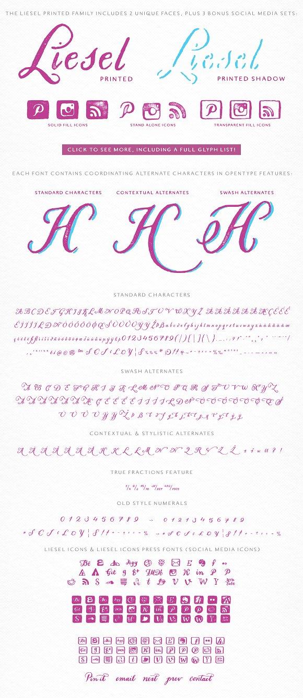 Liesel Printed Family