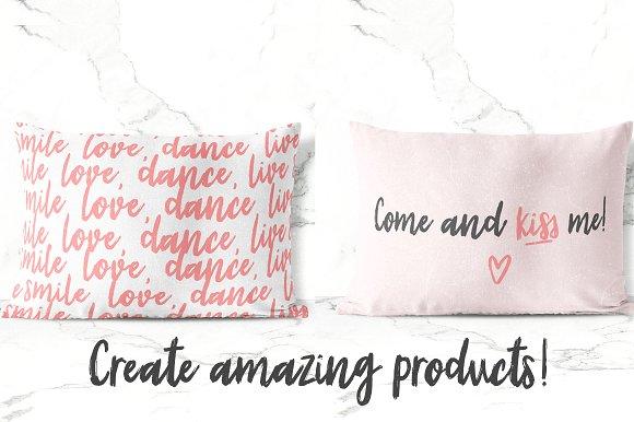 Sunrise | Handmade font + extras!