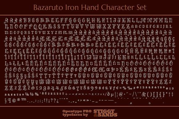 Bazaruto Iron Hand Family