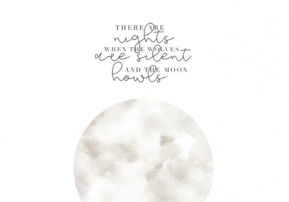 Moonwake - Handwritten Script Font