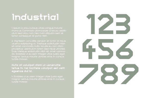 Numhead Typeface