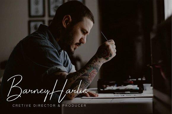Darcey Oliver Signature Font