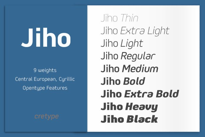Jiho Font Family